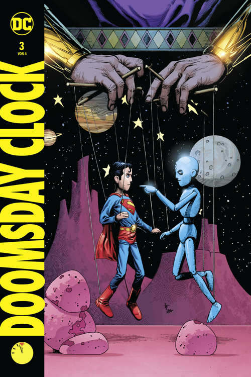 Doomsday Clock 3 Hardcover