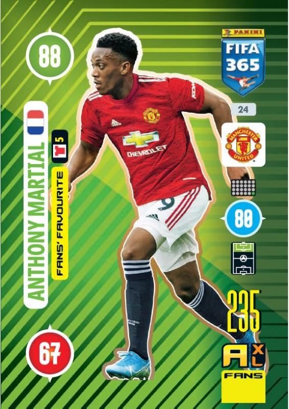 Panini FIFA 365 Adrenalyn XL 2021 - Anthony Martial