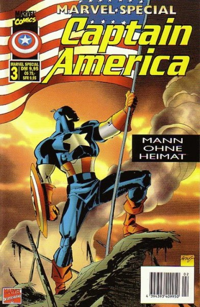 Captain America 3 (2001): Cap hinter Gittern Variant