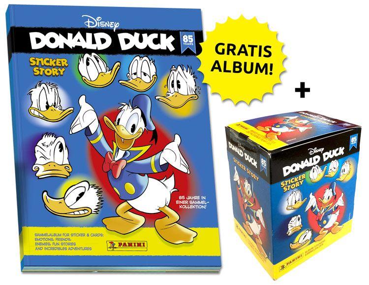 85 Jahre Donald Duck Sammelkollektion – Sticker-Starter-Bundle