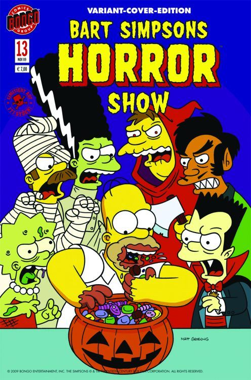 Simpsons Horror 13 Variant (Comic...