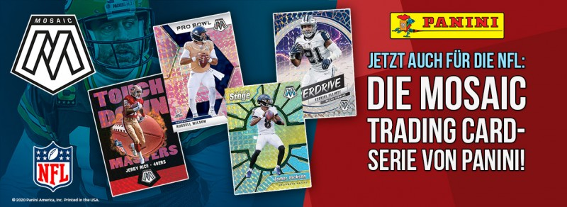 NFL Mosaic 2020 Trading Cards