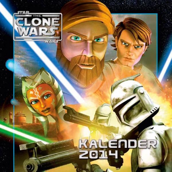 Star Wars: The Clone Wars - Wandkalender (2014)