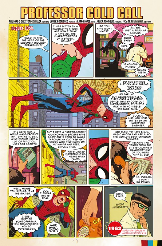 Marvel Comics 1000 – Blick in den Comic Vorschauseite 2