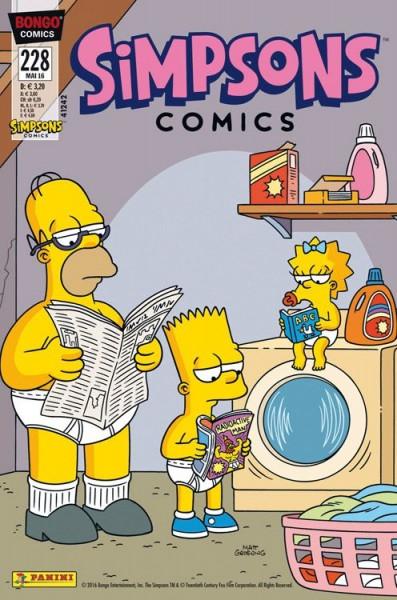Simpsons Comics 228