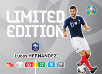 UEFA Euro 2020 Adrenalyn XL Limited Edition Card Lucas Hernandez