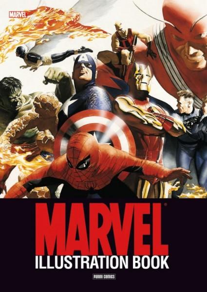 Marvel - Illustration Book