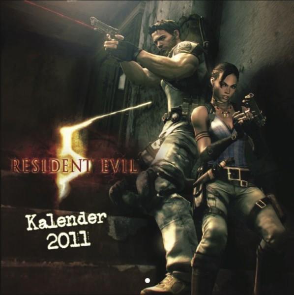 Resident Evil 5 - Wandkalender (2011)