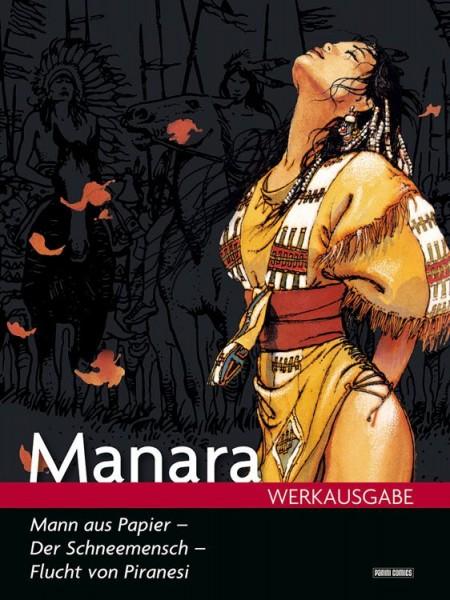 Manara Werkausgabe 16: Mann aus Papier