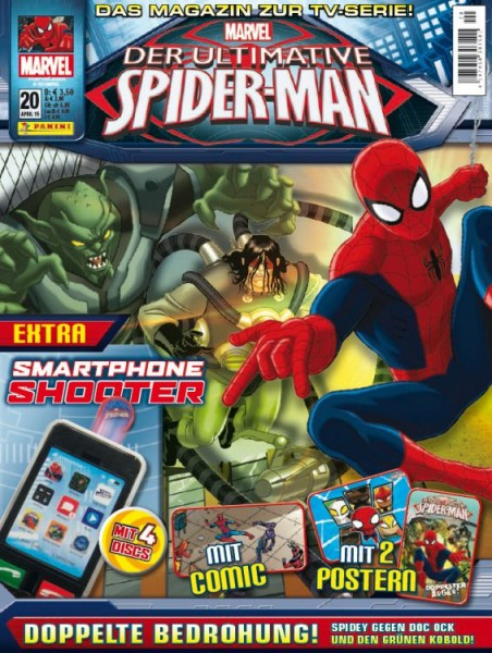 Der ultimative Spider-Man - Magazin 20
