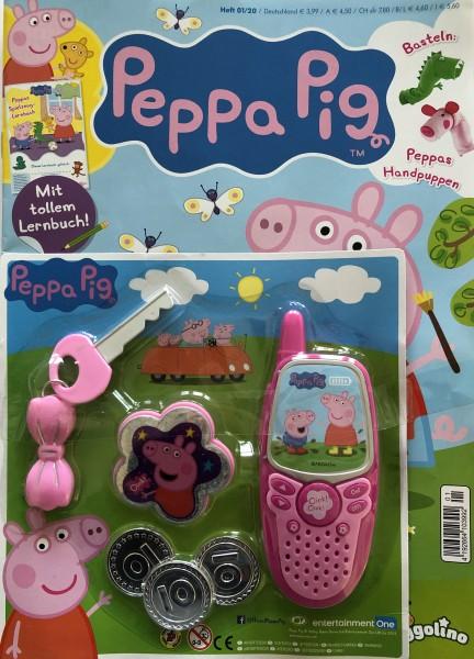 Peppa Pig Magazin 01/20 Cover