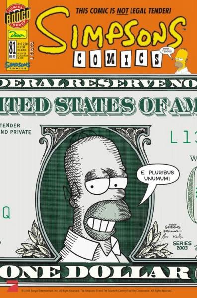 Simpsons Comics 81