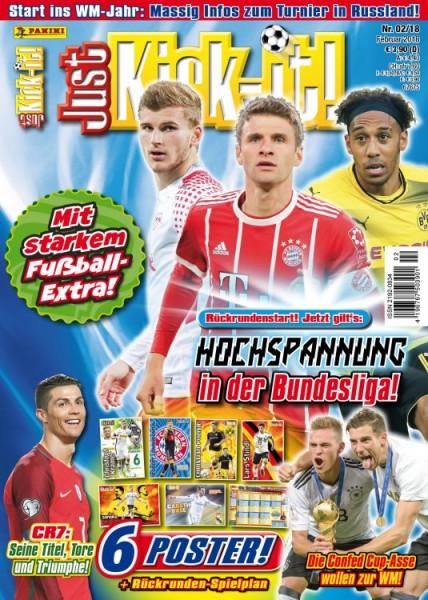 Just Kick-It! Magazin 02/18