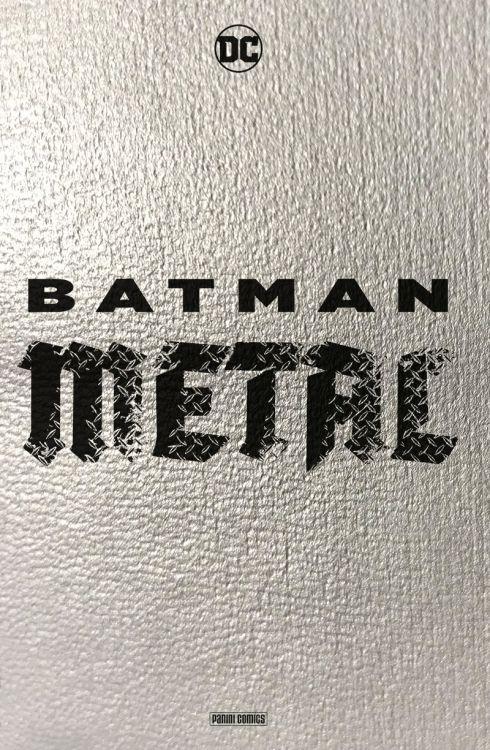 Batman Metal Hardcover