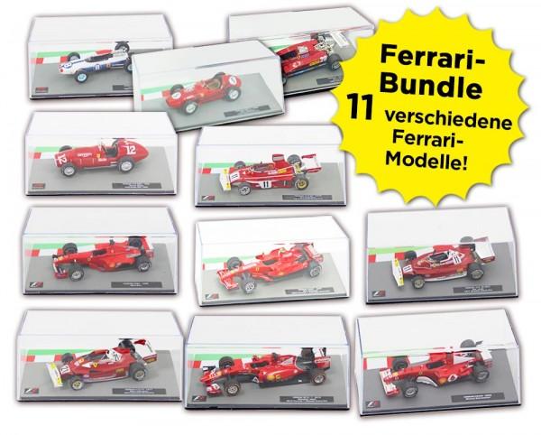 Formula 1 Rennwagen-Kollektion: Ferrari-Bundle
