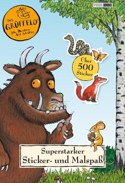 Der Grüffelo - Superstarker Sticker- und Malspaß Cover