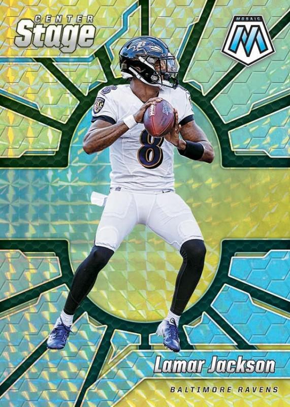 NFL Mosaic 2020 Trading Cards - Lamar Jackson