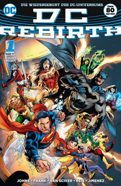 DC Rebirth Special: Die Wiedergeburt des DC-Universums