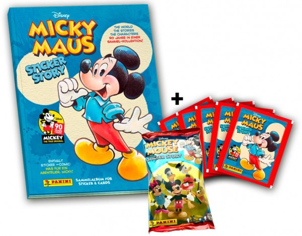 90 Jahre Micky Maus Sammelkollektion - Minibundle 1