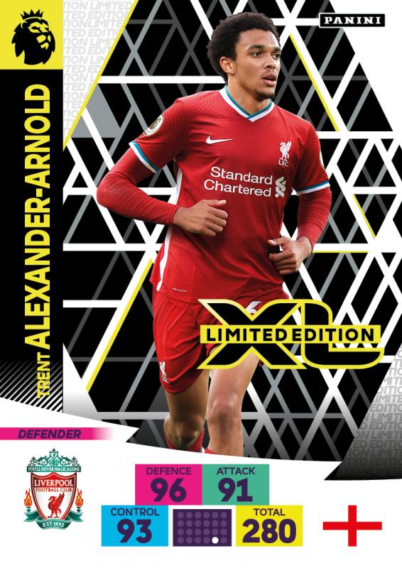 Panini Premier League Adrenalyn XL 2020/21 - Limited Edition Card - Trent Alexander-Arnold