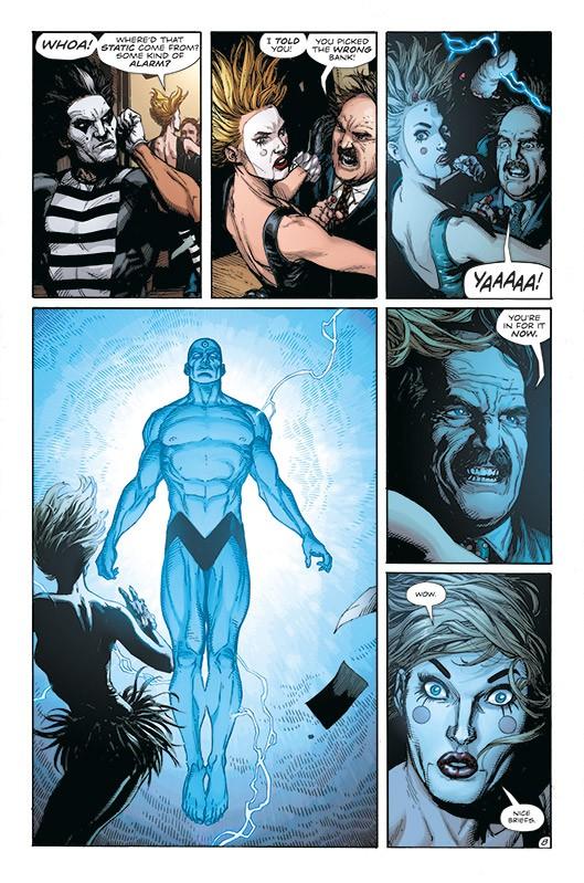 Doomsday Clock Blick in den Comic Vorschauseite 2