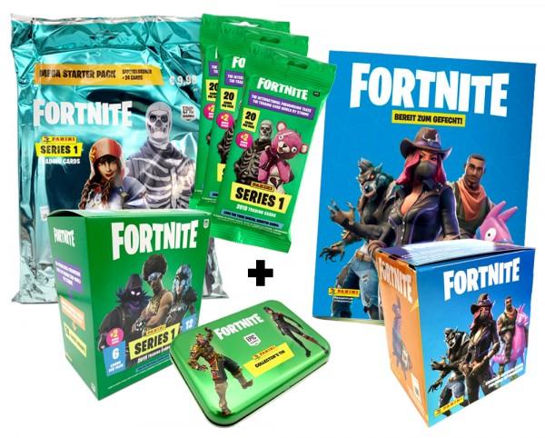 Fortnite Sticker + Trading Cards Bundle