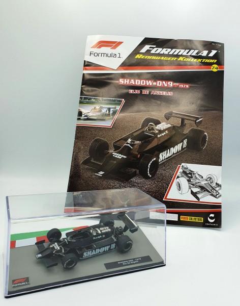 Formula 1 Rennwagen-Kollektion 74: Elio de Angelis (Shadow DN9)