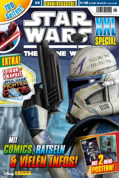 Star Wars: The Clone Wars XXl Special 01/15