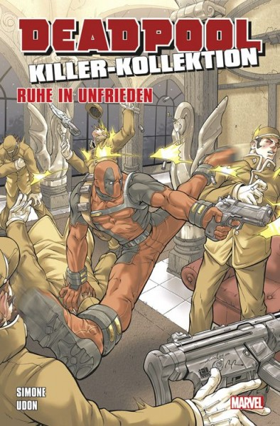 Deadpool Killer-Kollektion 14: Ruhe in Unfrieden Cover