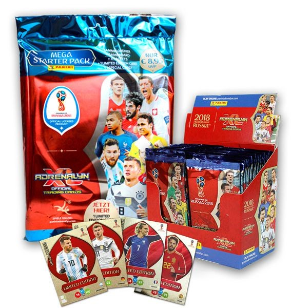 2018 FIFA World Cup Russia Adrenalyn XL - Starter Bundle 3