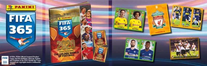 FIFA 365 2020 - Offizielle Stickerkollektion