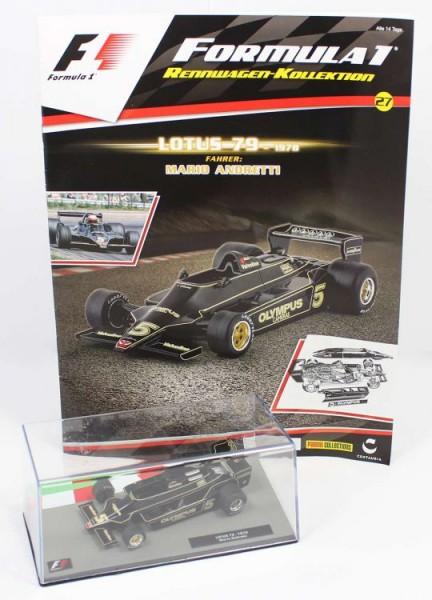 Formula 1 Rennwagen-Kollektion 27: Mario Andretti (Lotus 79)