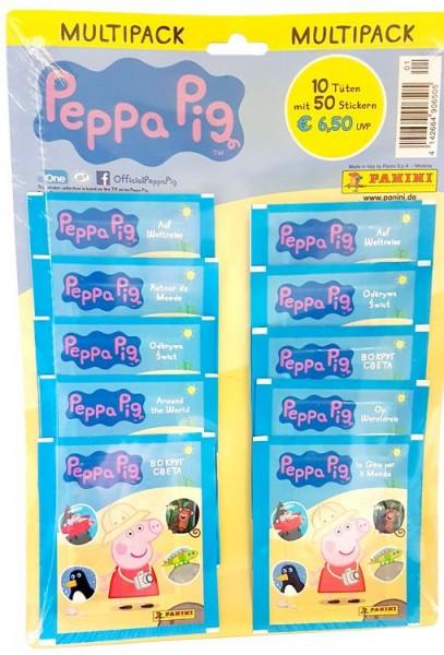 Peppa Pig Auf Weltreise Stickerkollektion - Multipack