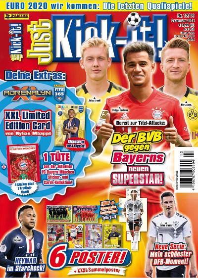 Just Kick-it! Magazin 12/19
