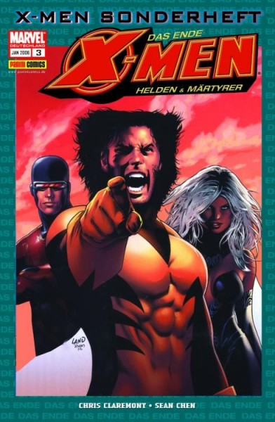 X-Men Sonderheft 3: Das Ende - Helden & Märtyrer 1