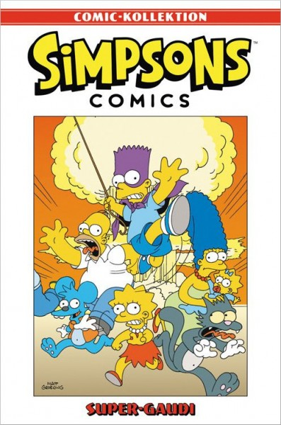 Simpsons Comic-Kollektion 18: Super-Gaudi Cover