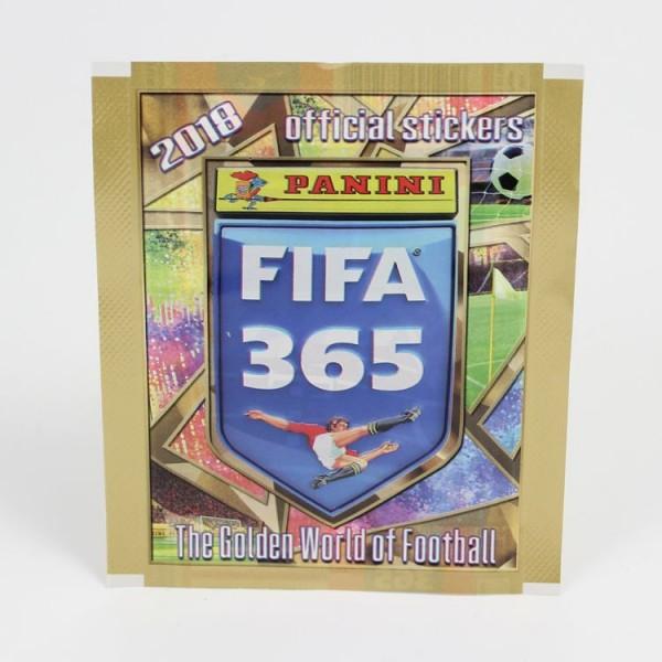 Panini FIFA 365 2018 Stickerkollektion - Tüte