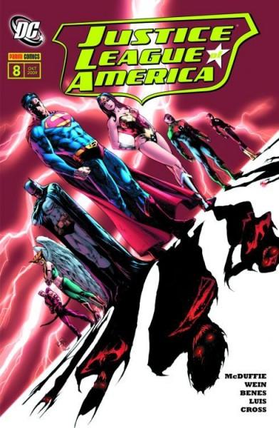 Justice League of America 8: Zusammenstoss der Welten