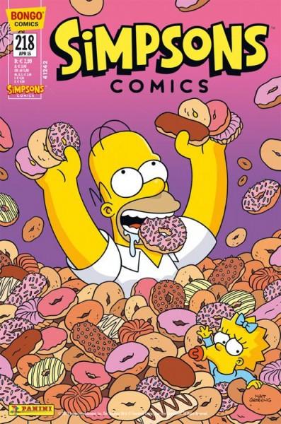 Simpsons Comics 218
