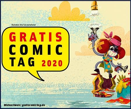 Gratis Comic Tag 2020