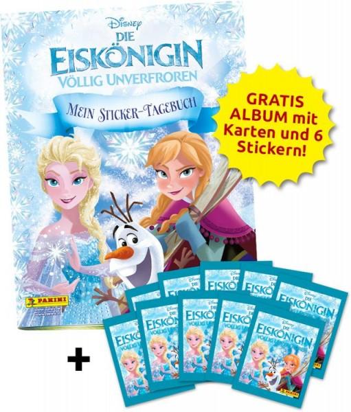 Disney: Die Eiskönigin - Mein Sticker-Tagebuch - Schnupperbundle