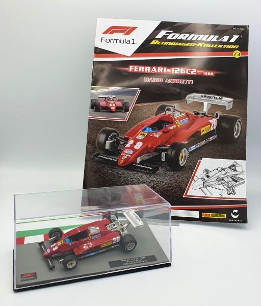 Formula 1 Rennwagen-Kollektion 73: Mario Andretti (Ferrari 126 C2)