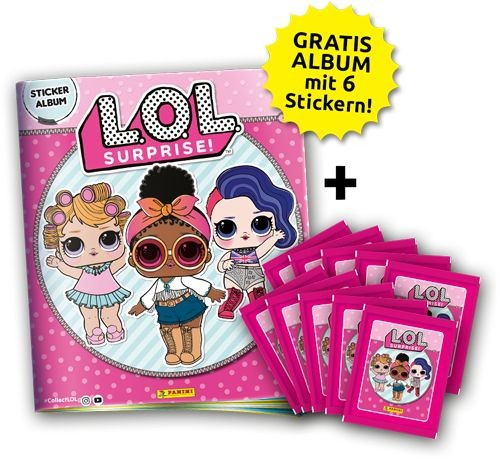 L.O.L. Surprise Stickerkollektion - Bundle 1