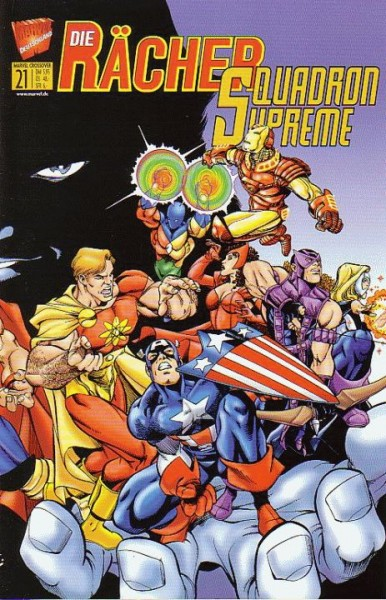 Marvel Crossover 21: Die Raecher/Squadron Supreme