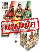 NBA 2018-2019 Stickerkollektion - Box + Album