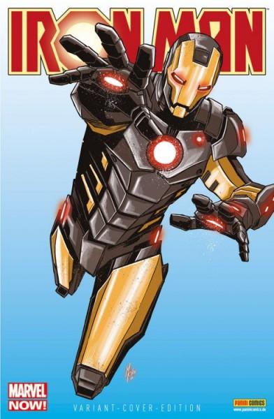 Iron Man/Hulk 16 Variant - Comic Action 2014
