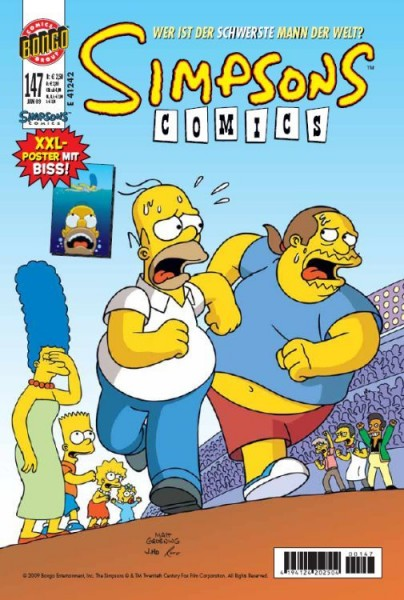 Simpsons Comics 147
