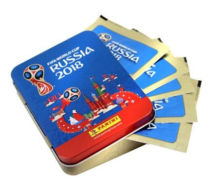 2018 FIFA World Cup Russia Stickerkollektion – Tin-Box