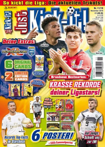 Just Kick-it! Magazin 11/19