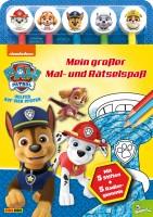 Paw Patrol: Mein großer Mal- und Rätselspaß Cover